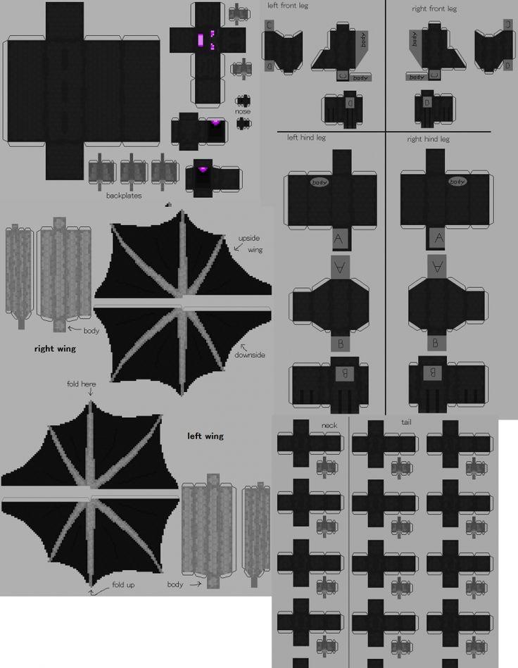 Spruce Paper Craft Minecraft