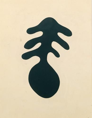 Jean Arp Positive or negative.                                                                                                                                                                                 Plus
