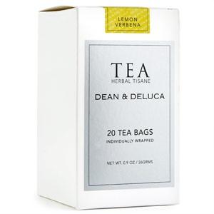 DEAN & DELUCA Lemon Verbena Tisane Tea Bags