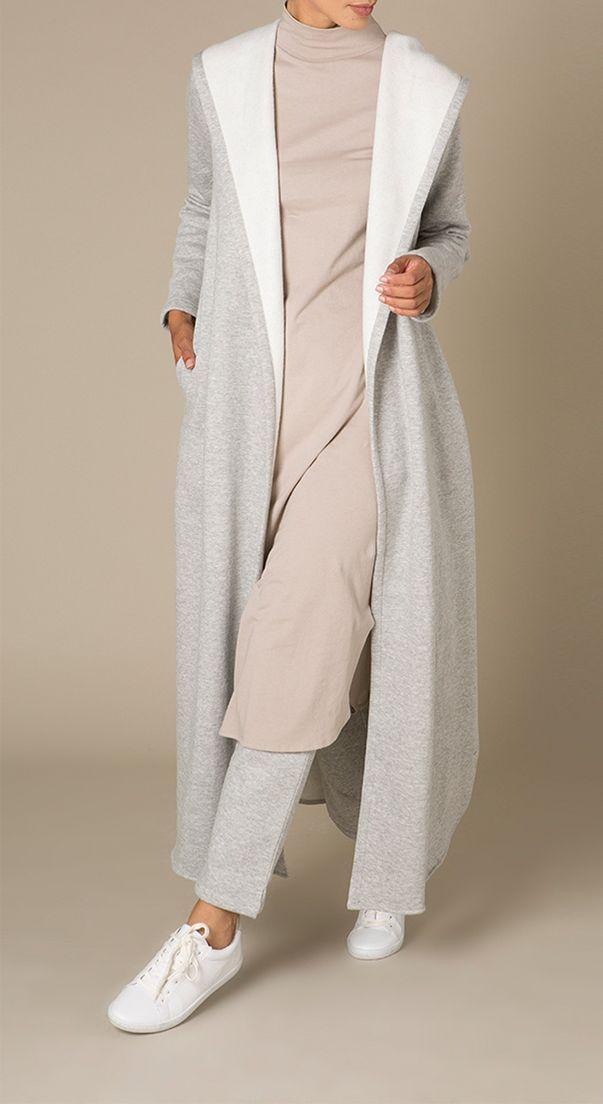 Hooded Fleece Grey