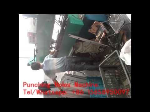 Aluminium ladder making machine,Punching holes machine for aluminium lad...