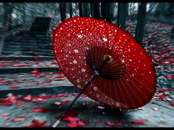 Japanese umbrella - Wagasa by ~kagomeP on deviantART