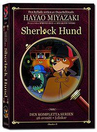 Recension av Sherlock Hund. Animerad tv-serie av bland andra Hayao Miyazaki .
