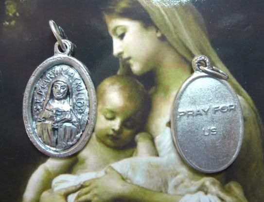 Mary Mackillop | You are buying 10X St Mary MacKillop Religious Patron Saint Medal ...