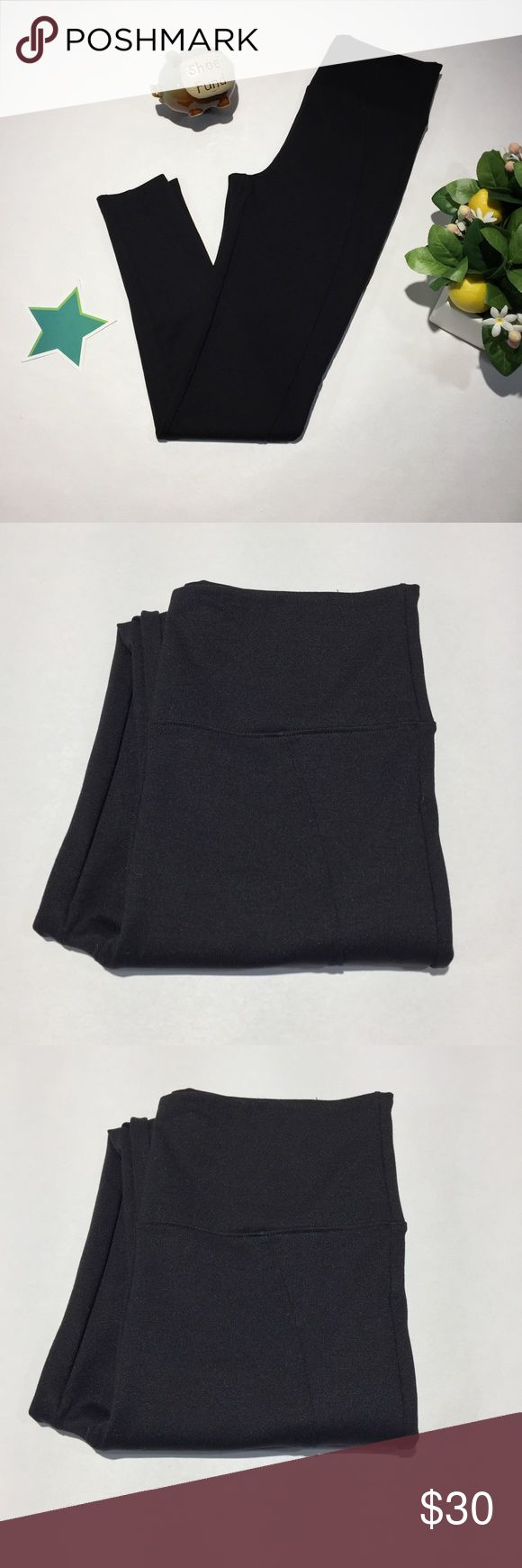Assets by Spanx for Sarah Blakley Medium Leggings ☀️ Medium  ☀️ Solid Black ☀️ Length - 38 in ☀️ Inseam - 27 in  📬 Ships next business day 📣 Please only make offers through Button 💰 Reasonable offers welcome ❌ NO TRADES ACCEPTED ❌ Assets By Spanx Pants Leggings