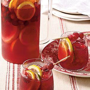 Cranberry Sangria | MyRecipes.com