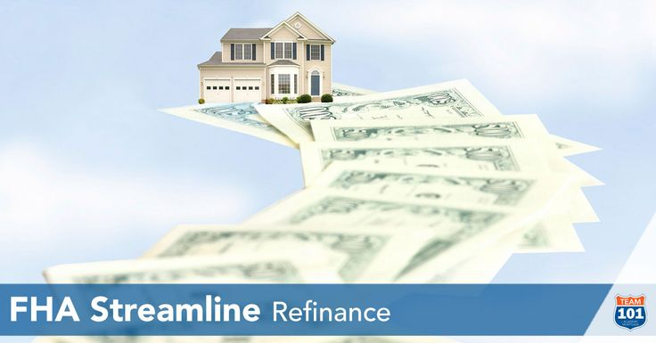 The fastest, simplest way to refinance your FHA mortgage. With interest rates still at historic lows and with the recent reduction in mortgage insurance premiums on FHA loans, now is the time to consider an FHA Streamline Refinance. An FHA Streamline Refinance is typically the fastest, simplest way to refinance your FHA mortgage. No income verification is required—which may be of particular benefit to homeowners with lower incomes—and a home appraisal might not be required.