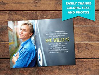 Graduation Announcement Card Templates #photography #photographer