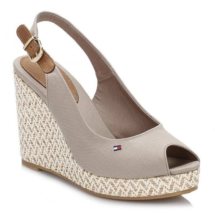 Tommy Hilfiger Womens Fungi Wedge Shoes