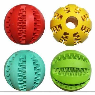 Jouet pour chien En Caoutchouc Balles Pet Jouets Boule Chew Jouets Dent De Nettoyage Boules Alimentaire-7 cm - Achat / Vente balle - frisbee Jouet pour chien En Caoutch - Cdiscount