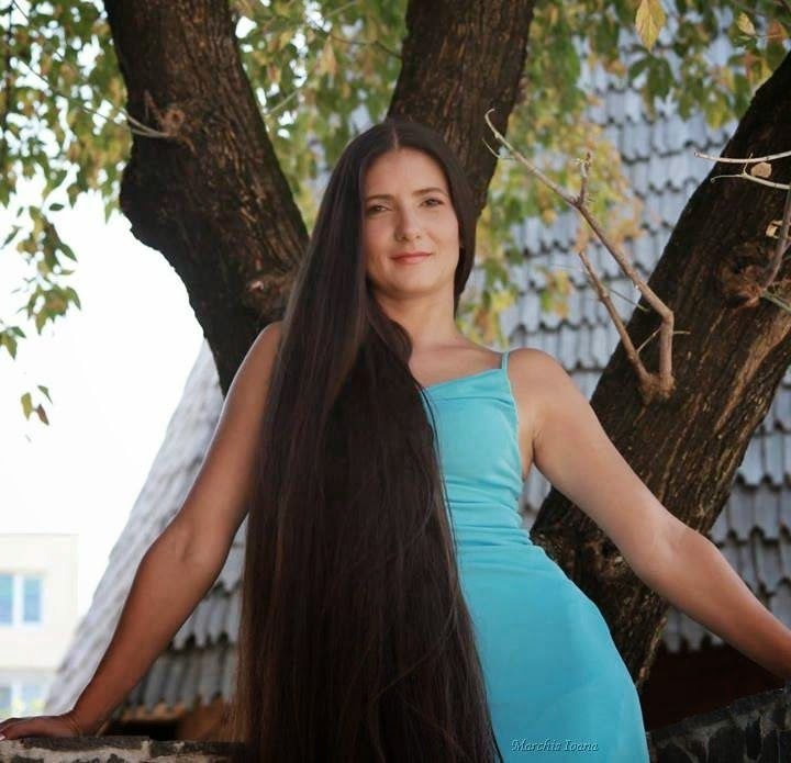 Long Haired Women Hall of Fame: Ioana Marchis | Long hair ...