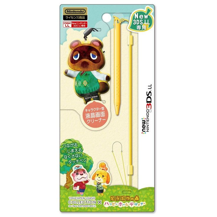 Touch Pen Leash Collection x Animal Crossing Tanukichi