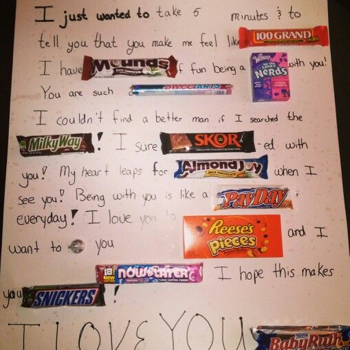 cute things to make for girlfriend