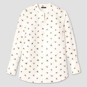 Women's Plus Bee Print Button Down Top - Victoria Beckham for Target : Target