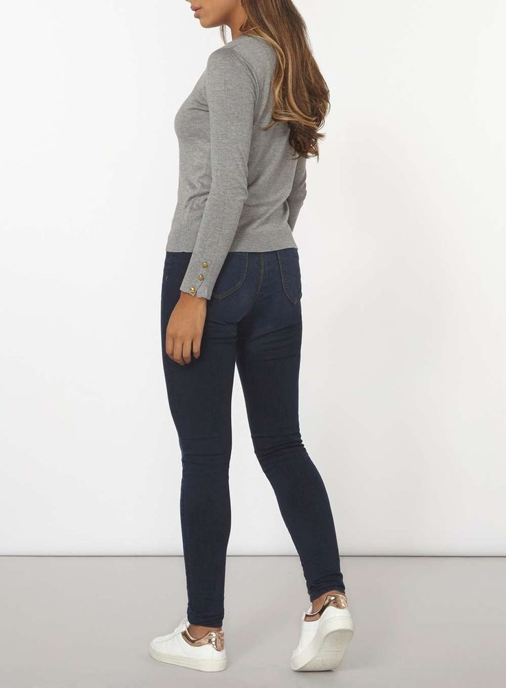 Womens Indigo Authentic 'Eden' Ultra Soft Jeggings- Blue