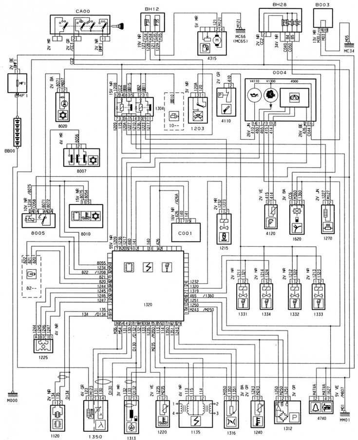 Engine Diagram Peugeot 7 Turbo