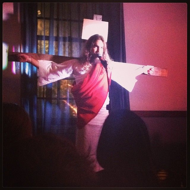 "@Ben McKenzie's photo: """"There are no rules at Come Heckle Christ."" #mfringe"""