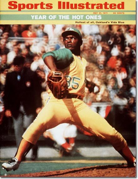 Vida Blue, Baseball, Oakland Athletics
