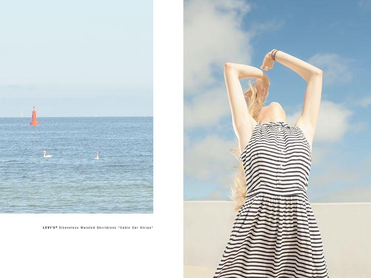 #summer #lookbook #ss15 #photoshoot #photosession #dress #dresses #stripes #levis