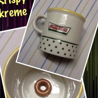 Krispy kreme mug