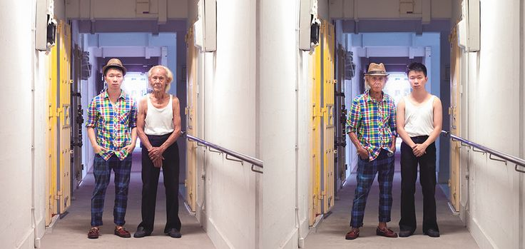 Young people swap clothes with their elders in this thought provoking and humorous series