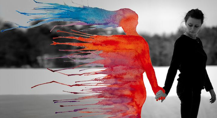 19-year-old artist Aliza Razell creates beautiful narratives in her mixed-media photographs by combining self-portraits with splashes of color to produce s