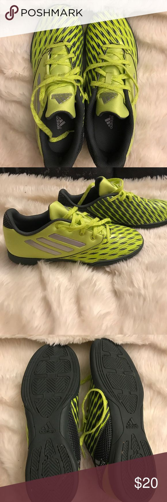 Adidas Indoor Soccer Shoes Indoor Soccer Shoes, worn for 1 game-- size 5.5. Adidas Shoes Athletic Shoes