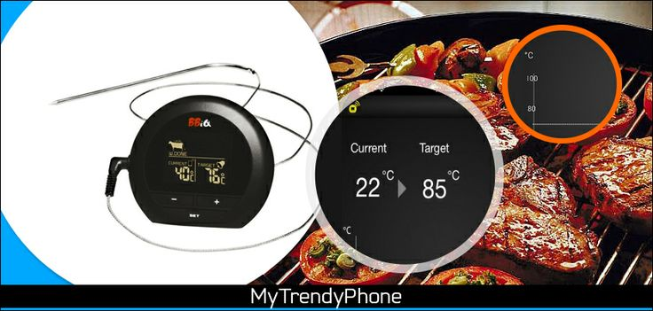 Nuevo en Tienda: BBiQ, el fabuloso #termómetro de cocina inalámbrico que se conecta a su smartphone por #Bluetooth. .  Por solo 69,40€, tu pescado al horno o la espalda de cordero ya no correrán riesgos de quedar mal. ¡No te lo pierdas! http://www.mytrendyphone.es/shop/bbiq-term%f3metro-de-121296p.html