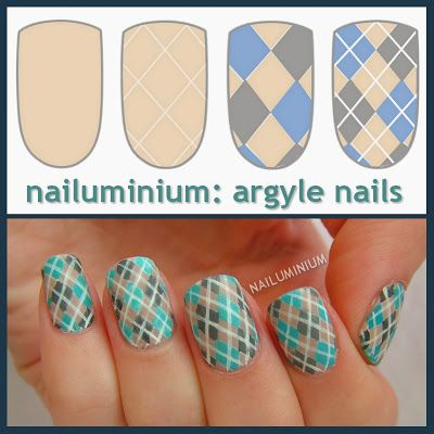 http://nailuminium.blogspot.fr/2013/12/argyle-nails-tutorial.html