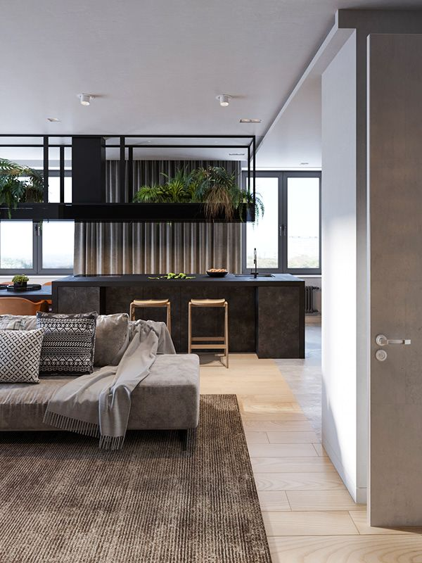 Contemporary Apartment In Moscow Russia Contemporary Apartment