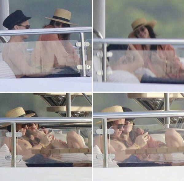 Harry and Kendall in vacations