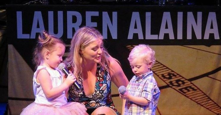 Lauren Alaina's little guests melted a ton of hearts at this sold-out show