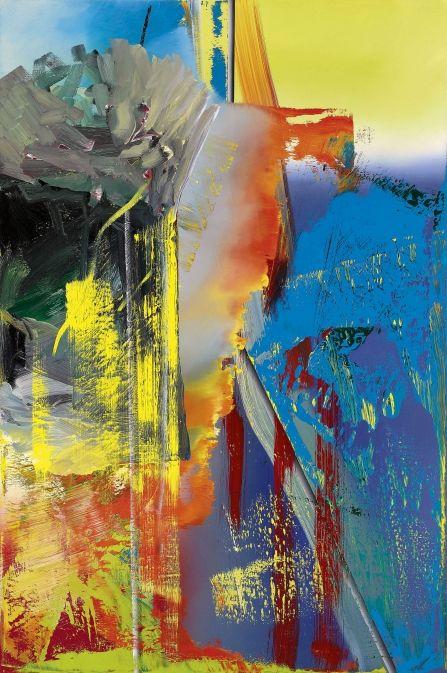 Abstract Painting [593-9] » Art » Gerhard Richter