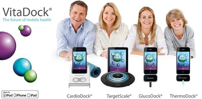 Gewicht meten met je iPhone? Bloedsuikergehalte meten? VitaDock biedt innovatieve producten aan waarbij je altijd en overal toegang hebt tot jouw digitale gezondheidsdossier.