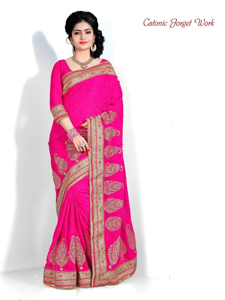 Wedding Bollywood Saree Indian Designer Ethnic Pakistani Sari Party Dress 1965 #Kriya #TraditionalSaree