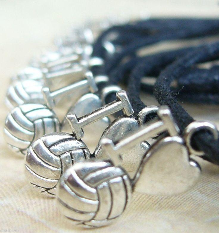10 x I Love NETBALL Sport Adjustable Wish Bracelet Coach Team Season End Gifts
