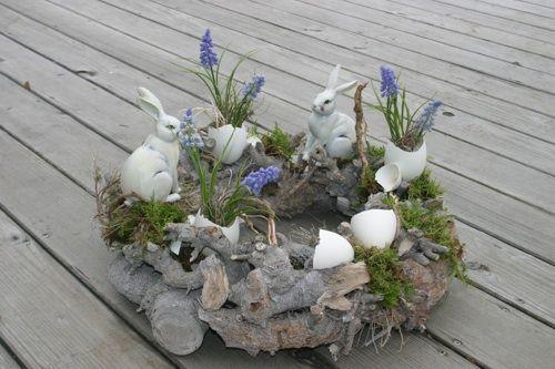 25 einfache Oster Deko Ideen in der letzten Minute - #Ostern