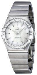 Omega Women's 123.15.27.60.05.001 Constellation White Mother-Of-Pearl Dial Watch