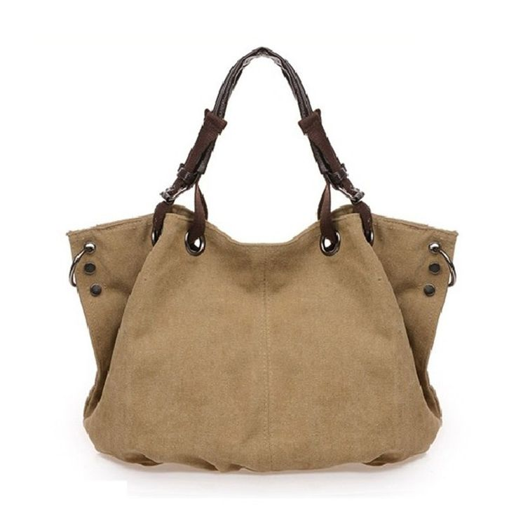 Bolsa De Lona E Couro Feminina : Melhores ideias de bolsa lona feminina no
