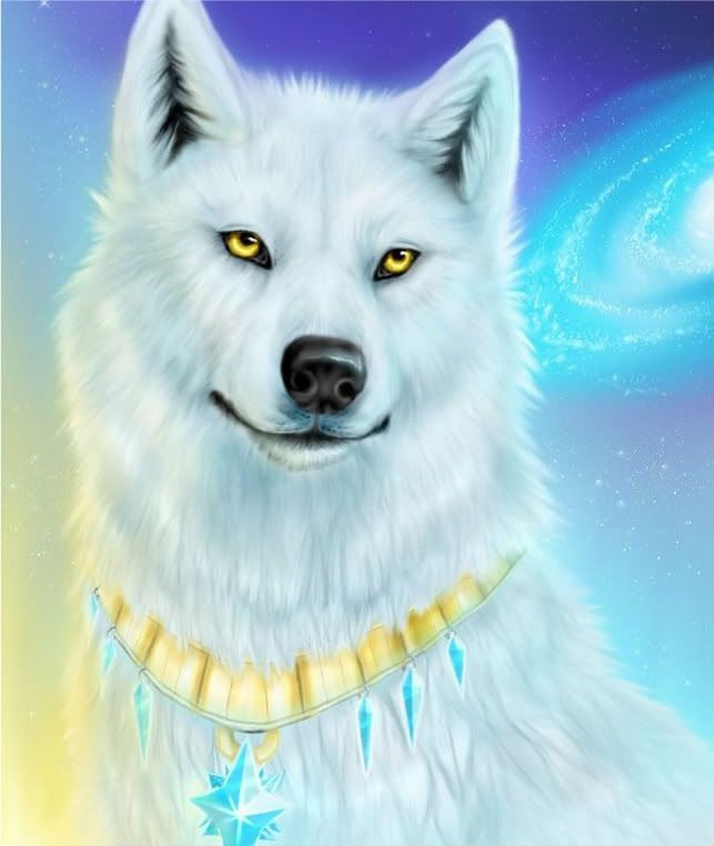 Celeste with her Sun necklace | Wolves of the gray