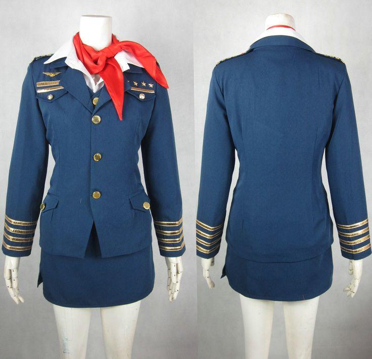 Uta no Prince-sama Ringo Tsukimiya Stewardess Cosplay Costume