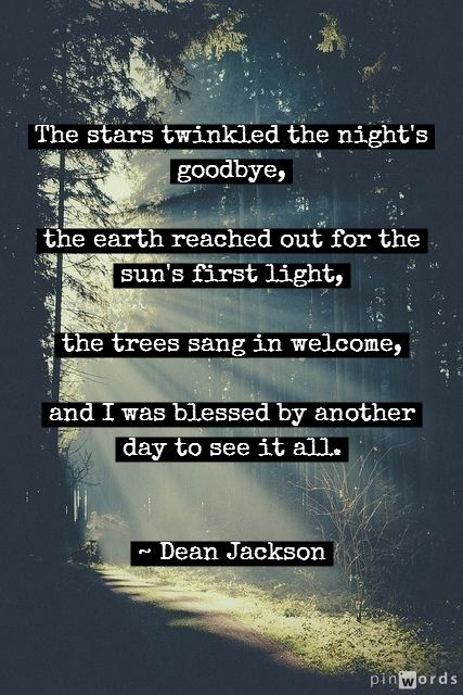 Another Day ~ Dean Jackson