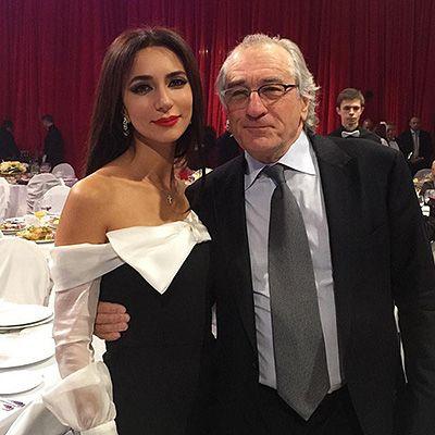 Зара и Роберт Де Ниро