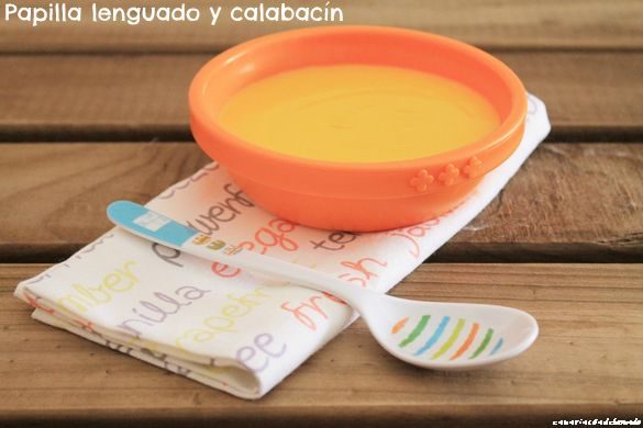 Papilla de lenguado con calabacín | Cocinando en un rincón del mundo