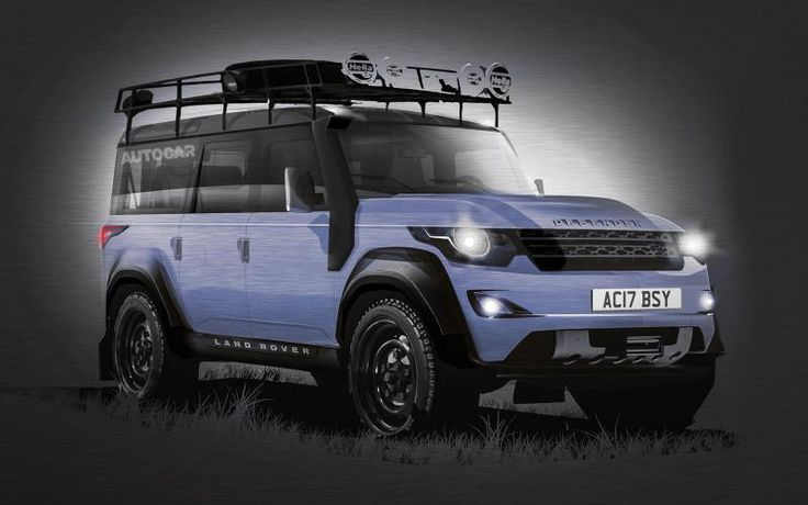 // New Land Rover Defender to launch in 2016