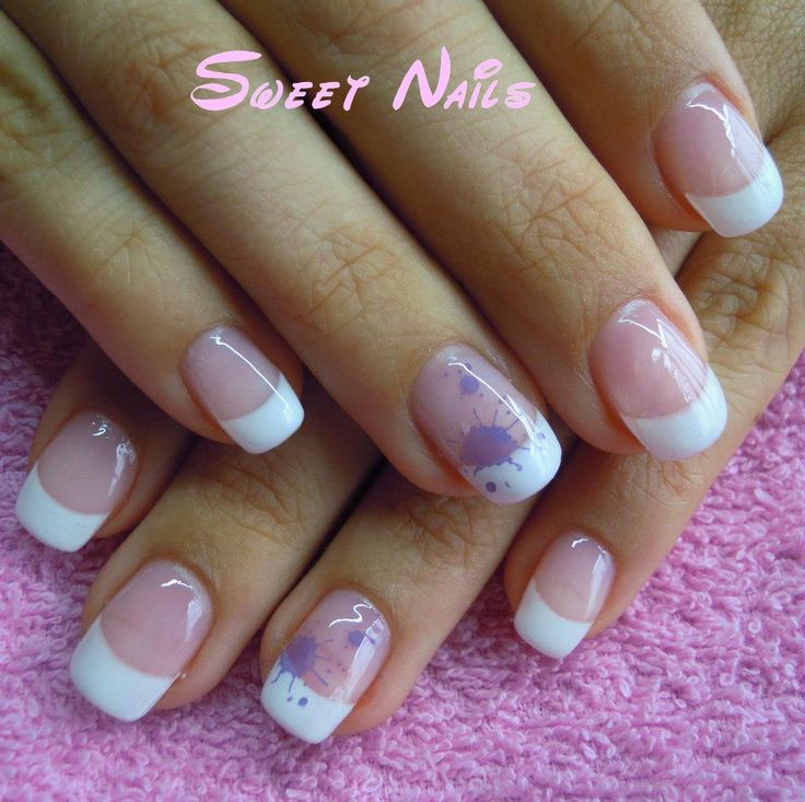 Gel nails -- french manicure | Nail inspiration | Pinterest
