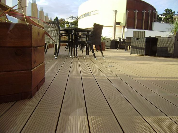 Great Use Vinyl Flooring On Outside Patio | WPC | Wood Plastic Floor | Pinterest  | Vinyls, Products And Outside Patio
