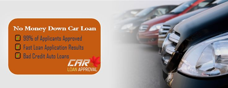 Down payment troubling you for getting car loans? Get no down payment car loans at affordable rates in Canada with CarLoanApproval. We serves our clients 24/7 online. Visit us today.