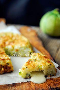 Frittata di zucchine senza uova in padella vickyart arte in cucina