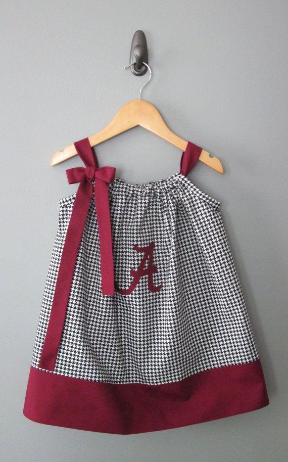 Université de l'Alabama taie d'oreiller robe par jamnjelli sur Etsy, $28.00